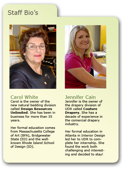 carol white, jennifer cain